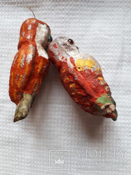Елочная игрушка две совы филина цена за оба, фото №3