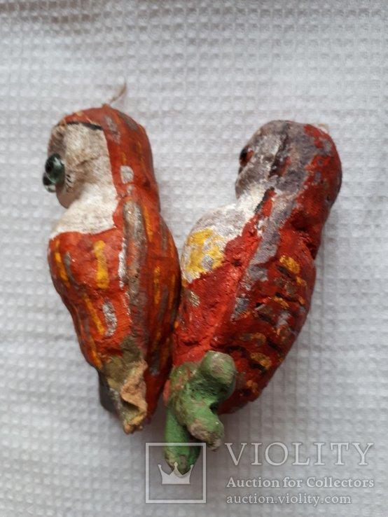 Елочная игрушка две совы филина цена за оба, фото №5