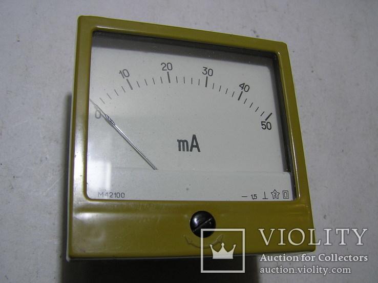 Миллиамперметр М 42100. 1982 г.в.