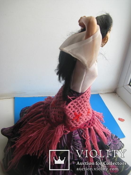Кукла паричковая СССР цыганка Аза, фото №9