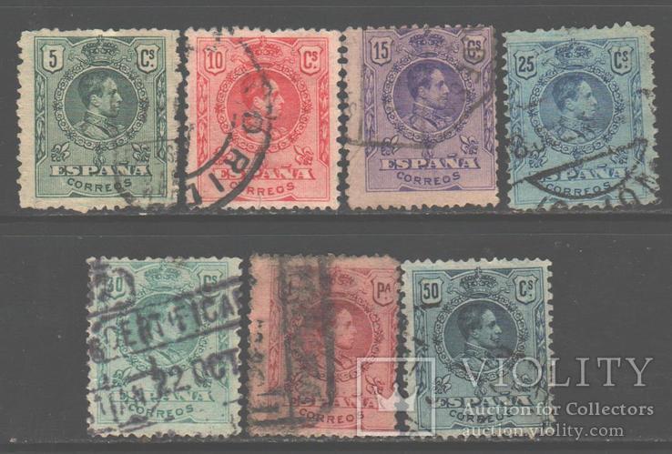 Испания. 1901. Альфонсо XIII, гаш.
