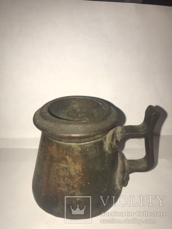 Мерка водочная 1891 Мерная кружка Чарка Сотая 1/100 ведра