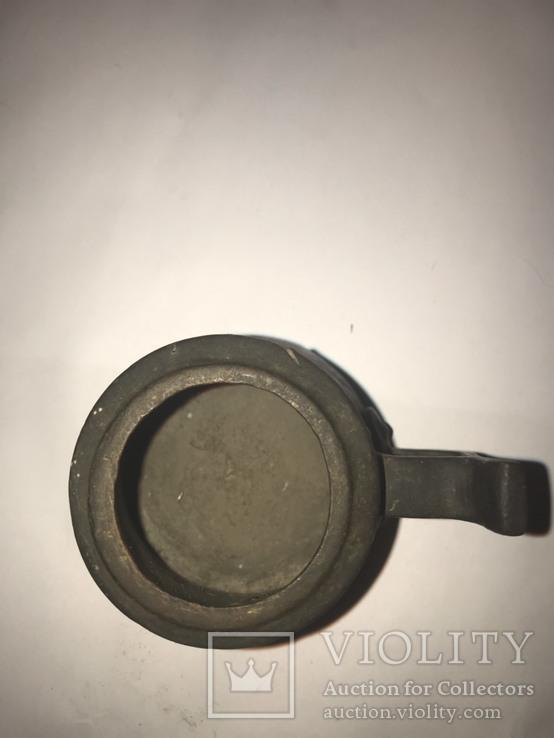 Мерка водочная 1891 Мерная кружка Чарка Сотая 1/100 ведра, фото №6