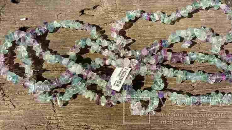 Ожерелье из натуральных камней 1,6 м. 132,7 грм., фото №6