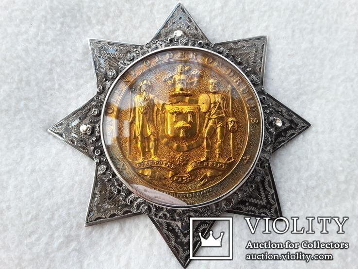 Медаль Ордена Древних Друидов. Масонская медаль. (Масон, орден, медальон, кулон, подвес)
