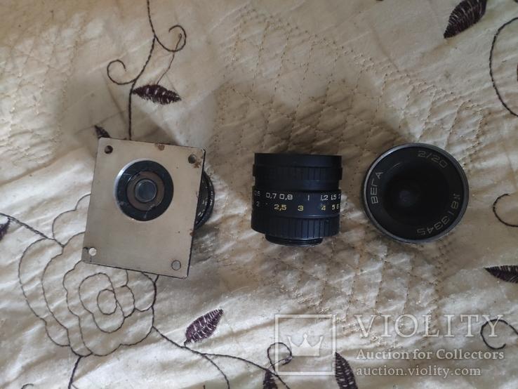 Объектив видеокамеры Вега