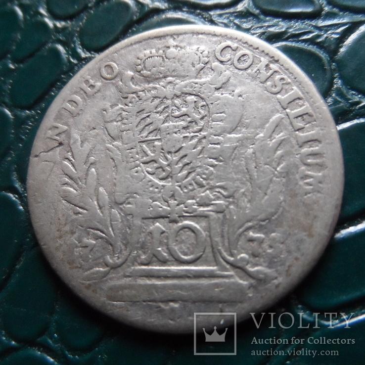 10 крейцеров 1775  Бавария  серебро   (Э.5.20)~, фото №3