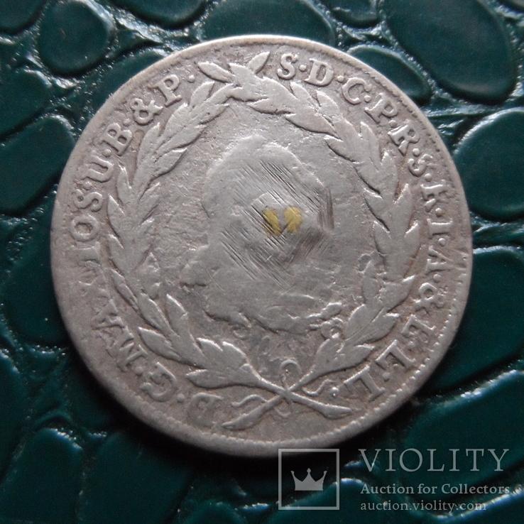 10 крейцеров 1775  Бавария  серебро   (Э.5.20)~, фото №4
