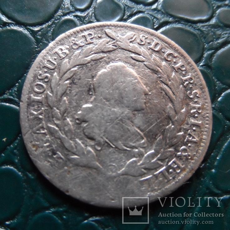 10 крейцеров 1773  Бавария  серебро   (Э.6.1)~, фото №4