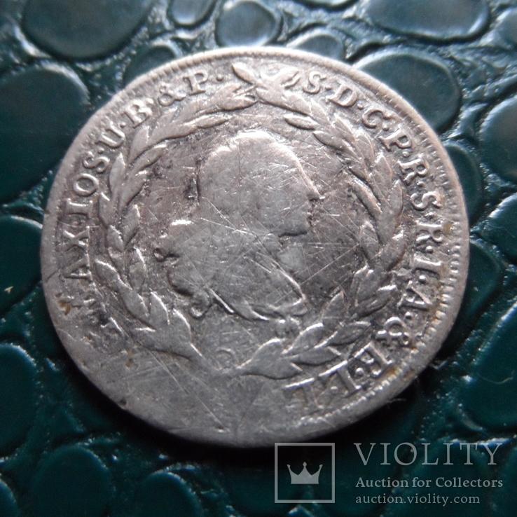 10 крейцеров 1773  Бавария  серебро   (Э.6.1)~, фото №5