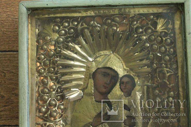 Богородица в киоте ( 34 НА 30 СМ), фото №4
