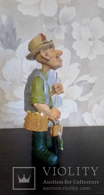 Фигурка рыбак W.Stratford, фото №5