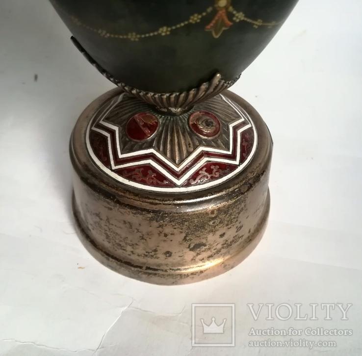 Кубок Кремль Палех Авторская роспись М. Парилов 1953г, фото №10