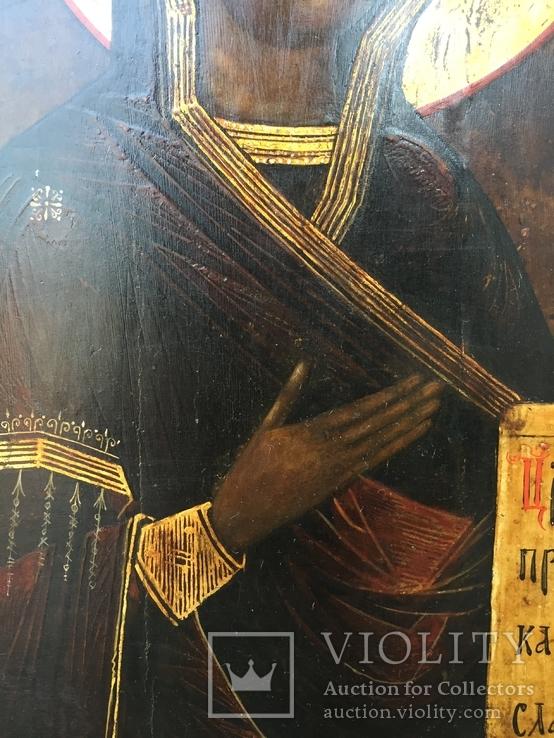 Икона БМ из деисусного чина, фото №5