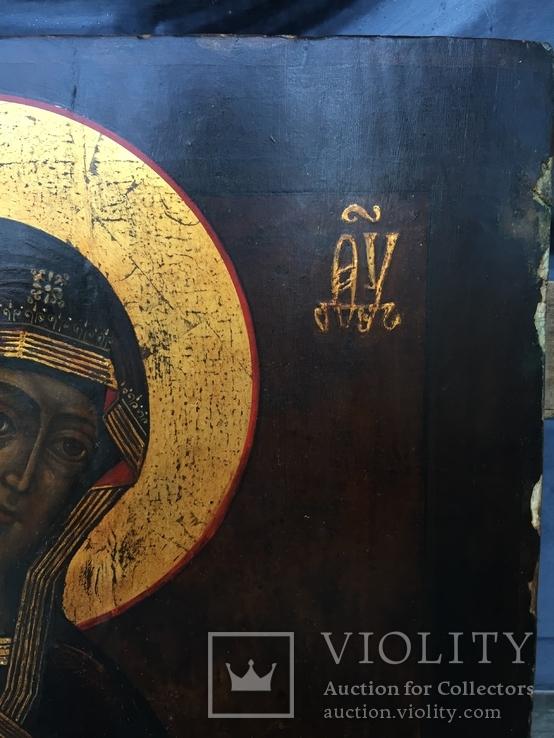 Икона БМ из деисусного чина, фото №6