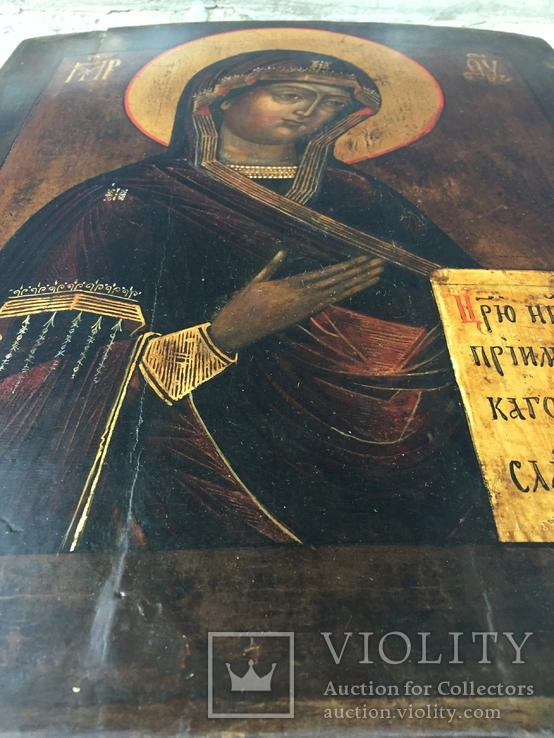 Икона БМ из деисусного чина, фото №7