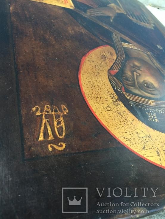 Икона БМ из деисусного чина, фото №9