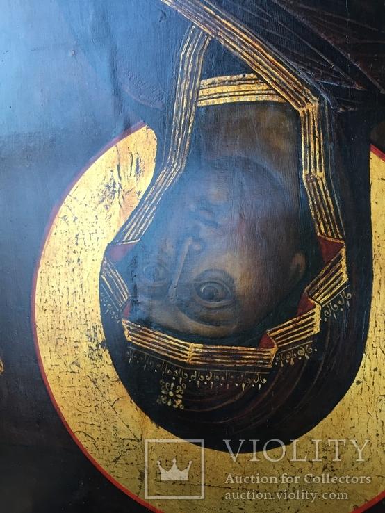 Икона БМ из деисусного чина, фото №11