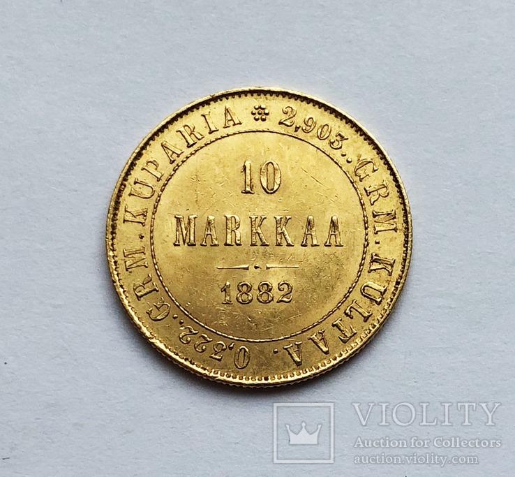 10 марок 1878 года. UNC.