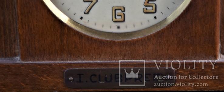 Часы будильник старинные кабинетные настольные I.Klubpreis Германия, фото №4
