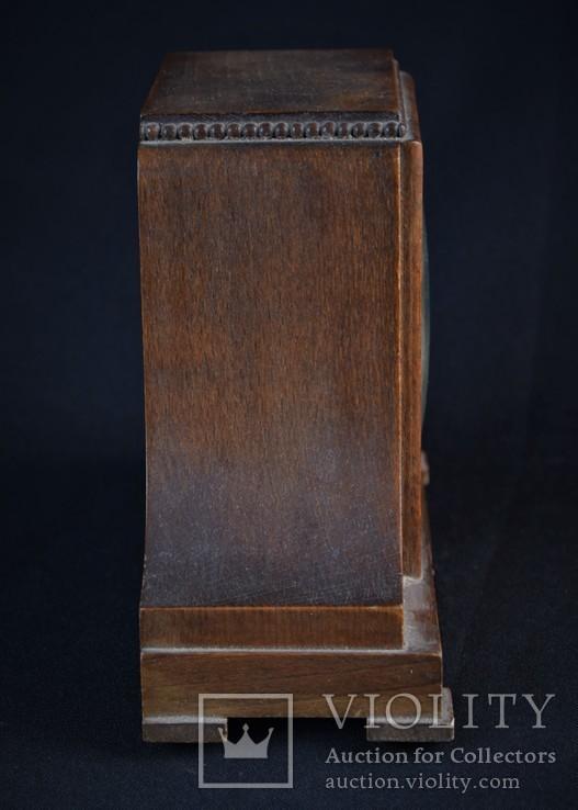 Часы будильник старинные кабинетные настольные I.Klubpreis Германия, фото №6
