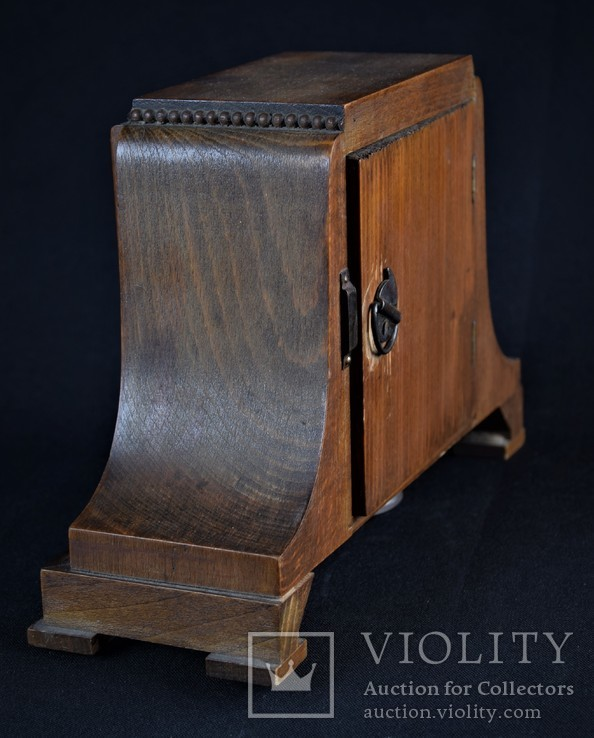 Часы будильник старинные кабинетные настольные I.Klubpreis Германия, фото №8