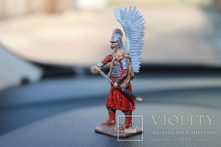 "Воїн з крилами ""штам М 132"" 8 см. висота. 91 гр. вага., фото №10"