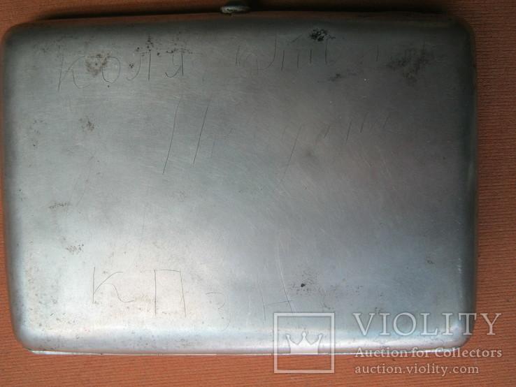 Портсигар серебро 84., фото №3