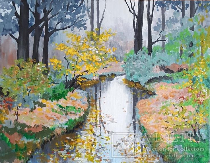 Осень у ручья