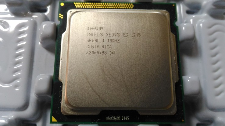Процессор Intel Xeon E3-1245 /4(8)/ 3.3-3.7GHz + термопаста 0,5г, фото №4
