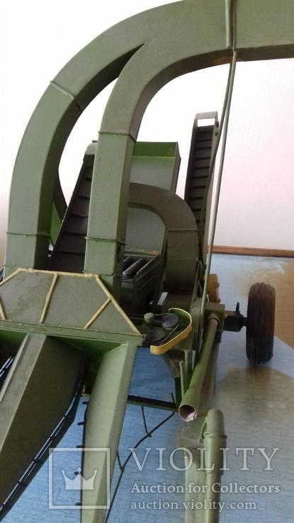 Макет кукурузоуборочного комбайна (320х440х250), photo number 4