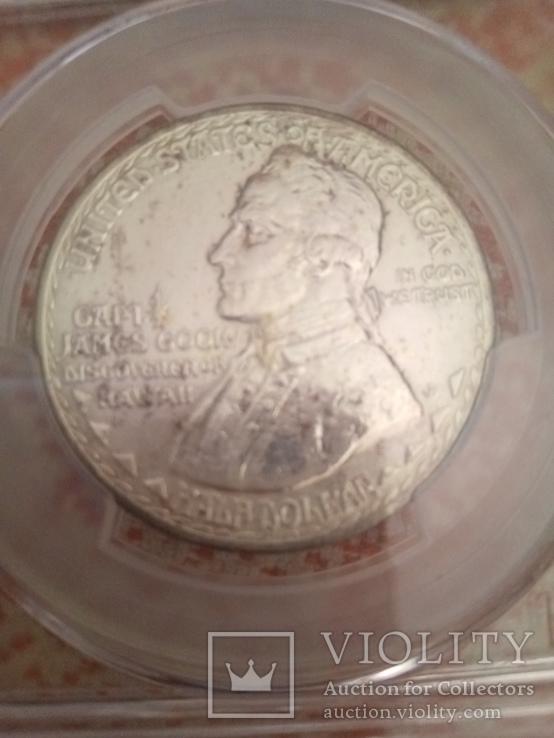 50 центов 1928 памятная США,Гавайи, фото №3