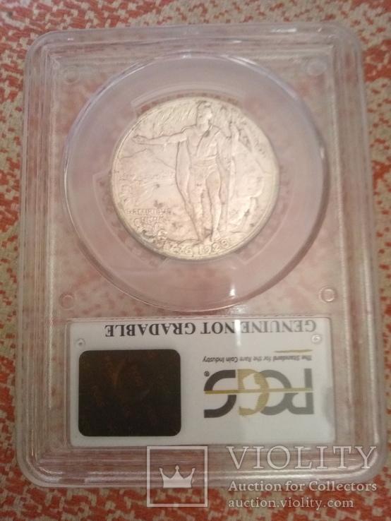 50 центов 1928 памятная США,Гавайи, фото №4