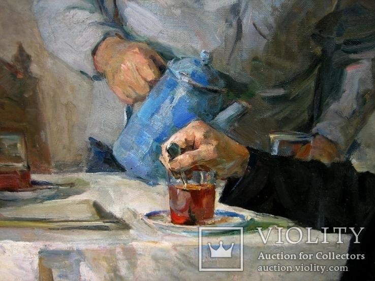 """Худож. Тартаковський """"Чай в родині вождя"""" 70-х років, фото №12"""