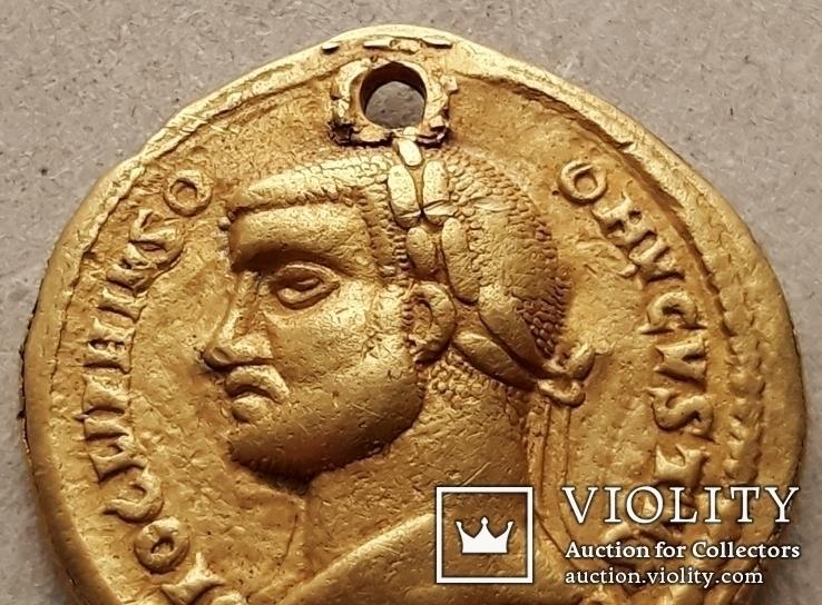 Подражание Ауреусу Диоклетиана (плакировка золотом)