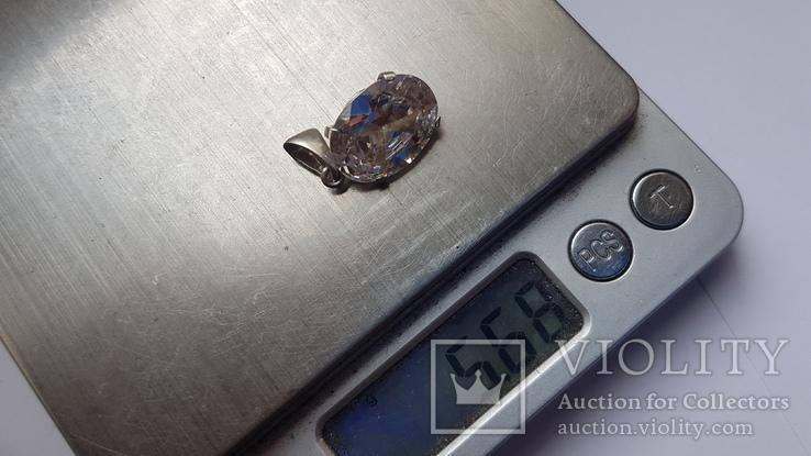 Подвес серебро 925 проба. Вес 5.7 г., фото №6