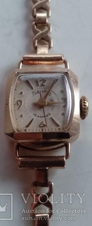 Золотые часы Мечта с браслетом ( женские ).