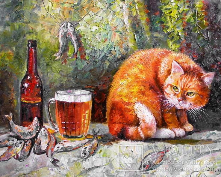 Рыба пиво кот, фото №4