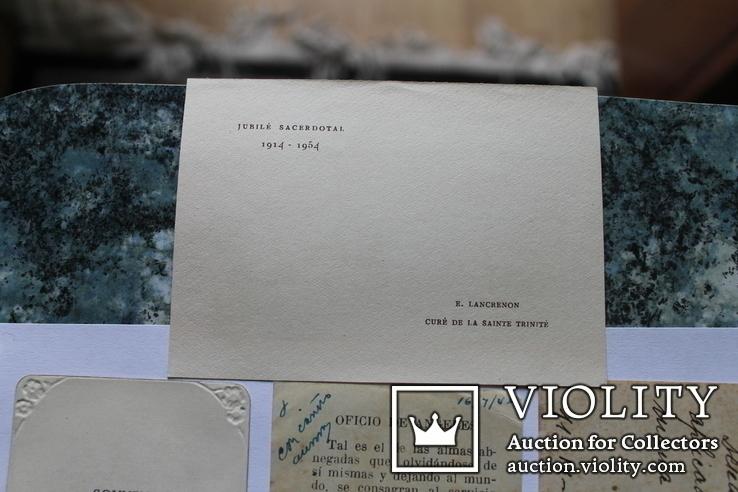 Сувенирные религиозные открытки Европа. Одним лотом, фото №9