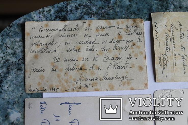 Сувенирные религиозные открытки Европа. Одним лотом, фото №10