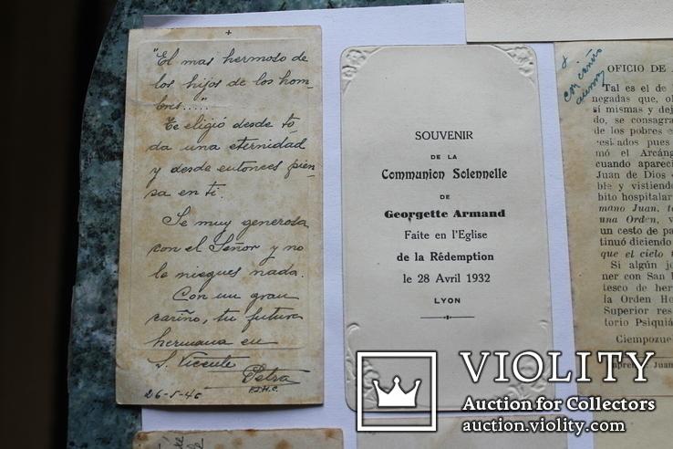 Сувенирные религиозные открытки Европа. Одним лотом, фото №11