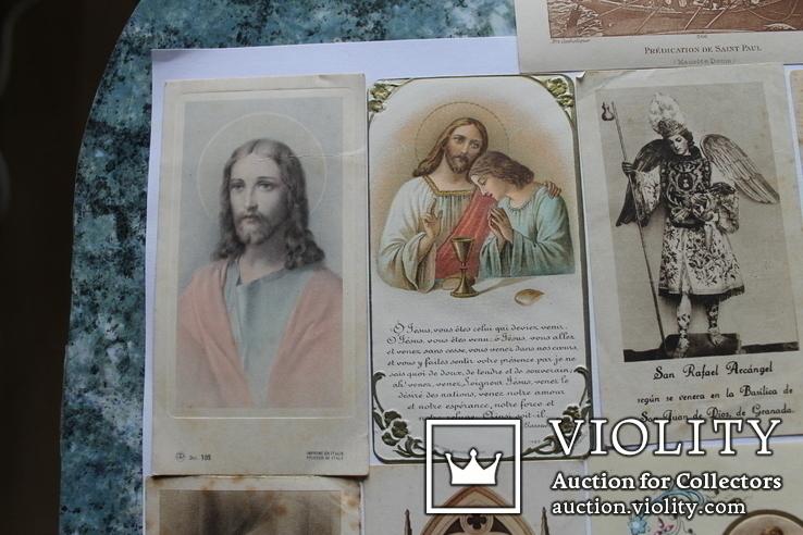 Сувенирные религиозные открытки Европа. Одним лотом, фото №12