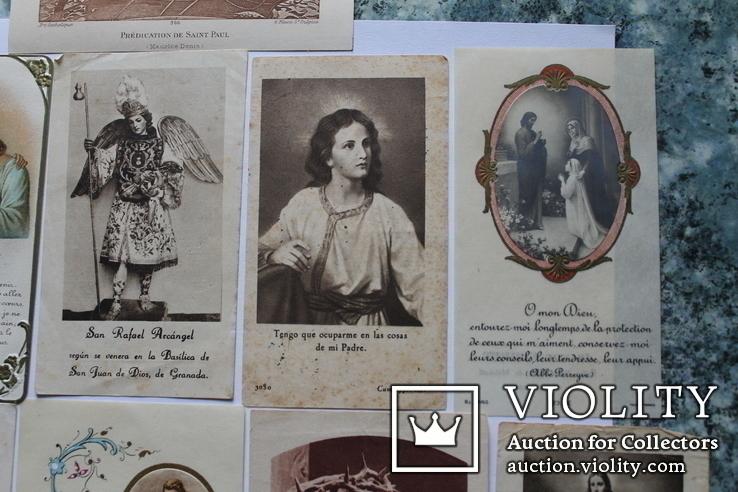 Сувенирные религиозные открытки Европа. Одним лотом, фото №13