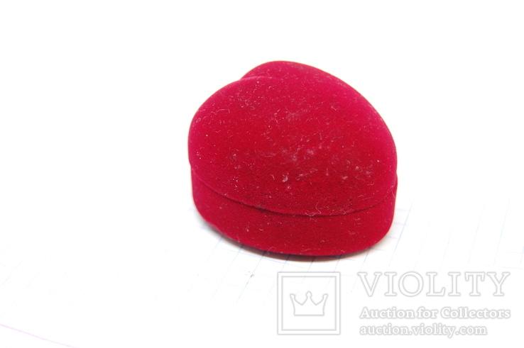 Футляр для кольца или сережек. Сердце, фото №3