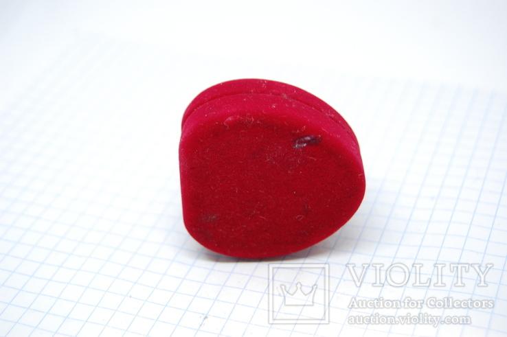 Футляр для кольца или сережек. Сердце, фото №7