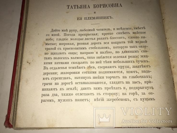 1891 Записки Охотника в одной книге Красивый Переплёт, фото №8