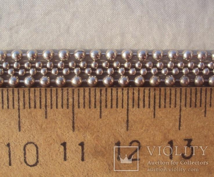 Цепочка перлина жемчужина 925., фото №9
