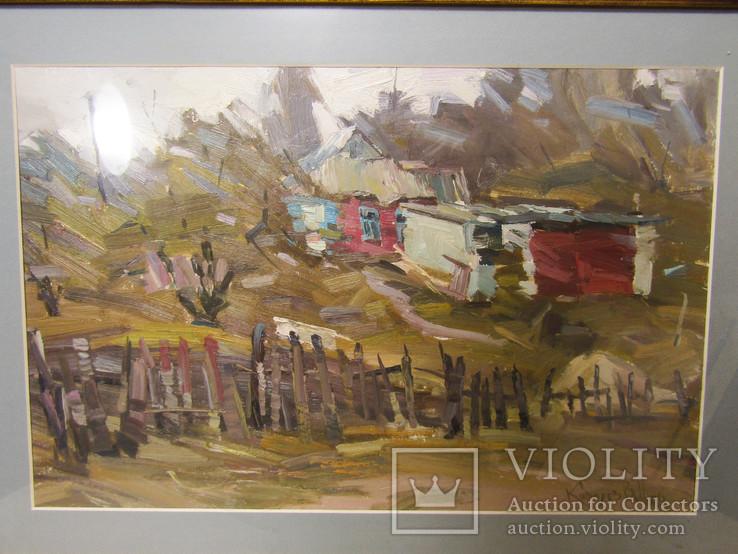 Картина Деревня Ковалёв В.Н, фото №3