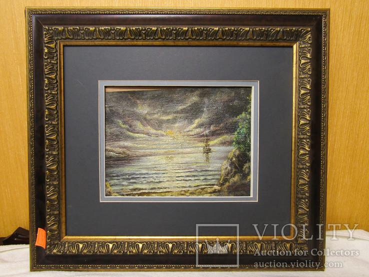 Картина Ночная Бухта Богаевский