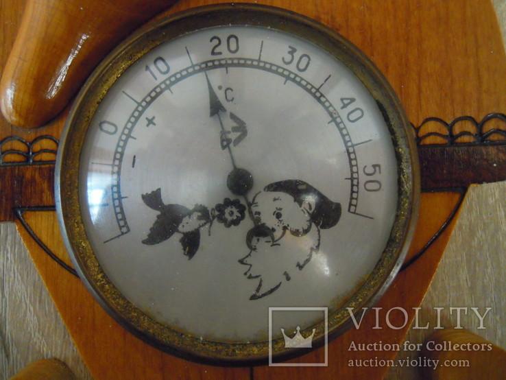 Термометр настінний, фото №3